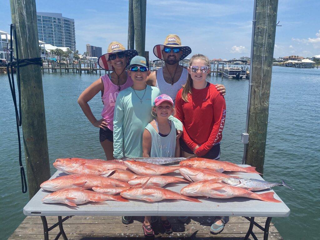 rsz family snapper fishing