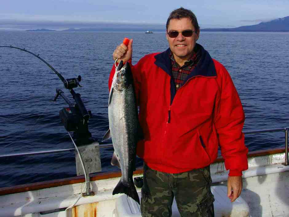 Salmon fishing Ketchikan, one of the best fishing spots in the US