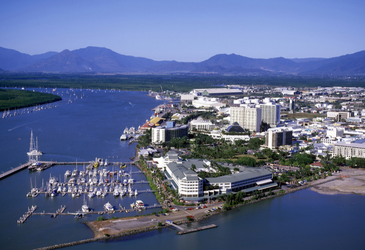 The port of Cairns