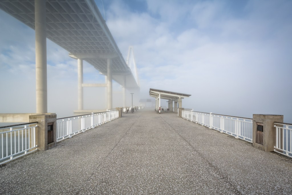 mount pleasant fishing pier is one of the best fishing piers around charleston, sc