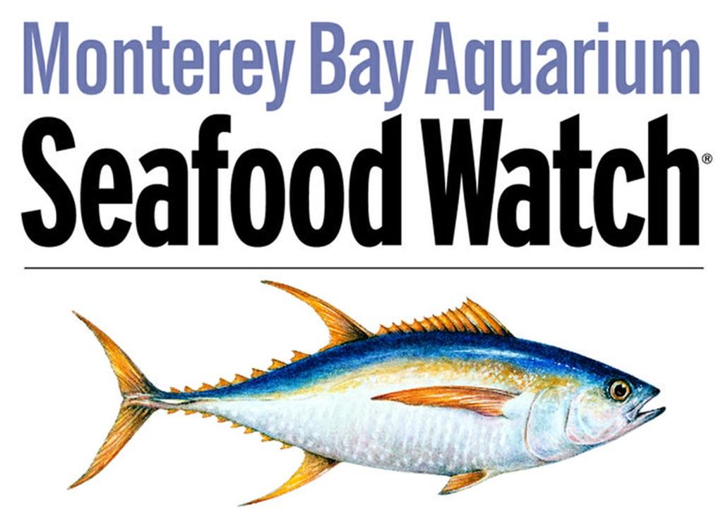 The logo of Monterey Bay Aquarium's Seafood Watch.