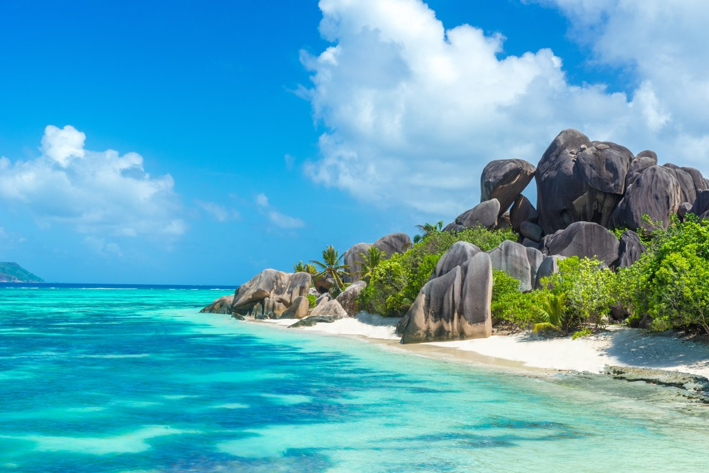 Seychelles Beach and Turquoise waters