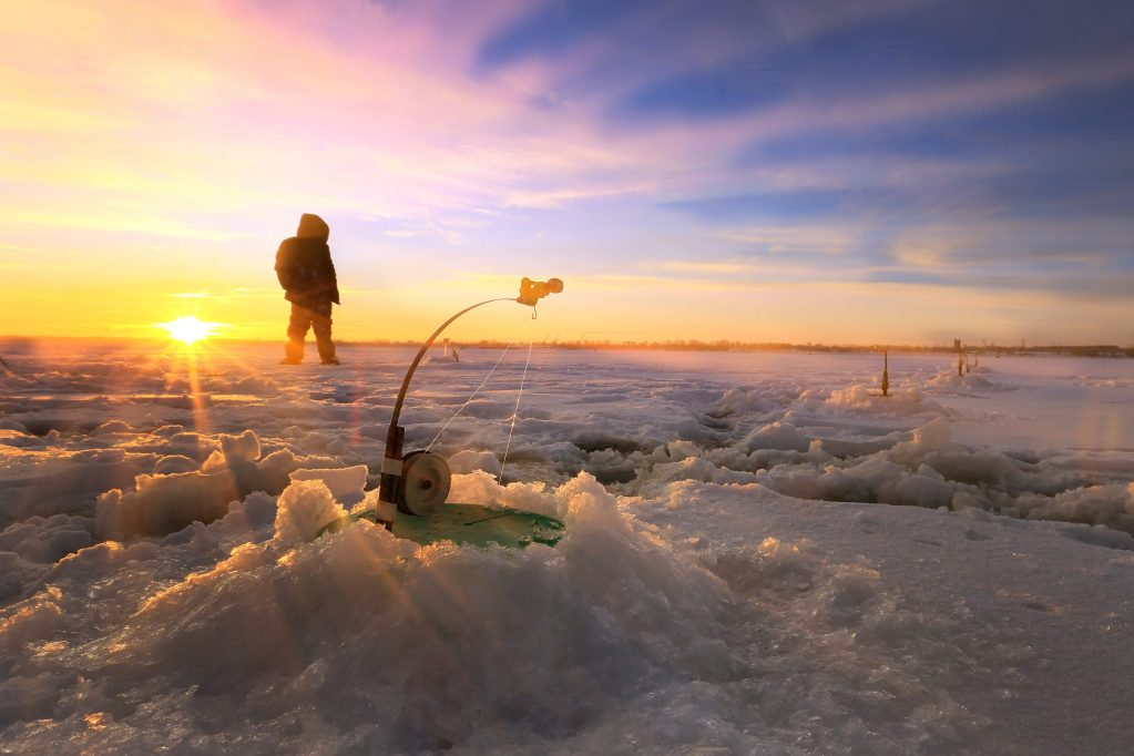 Brainerd, ice fishing, winter fishing destinations