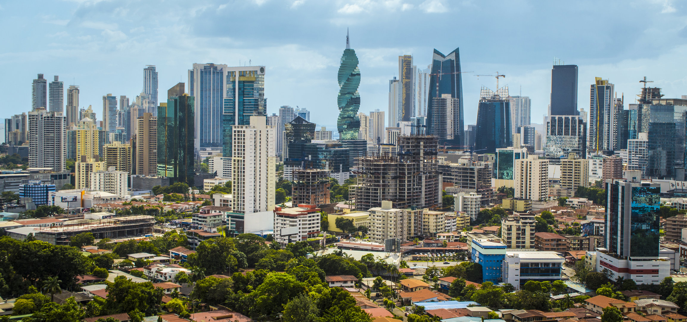 Panama City Beach skyscrapers