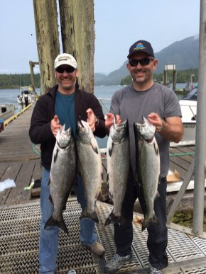A good day fishing Tofino summer 2015