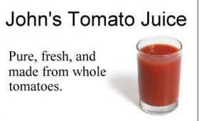 Tomato Juice ad