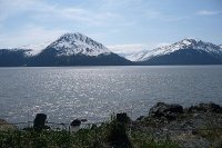 Turnagain Arm from Hwy 1.