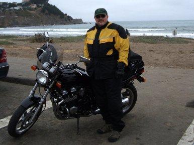 Me and my '97 Honda CB750 Nighthawk