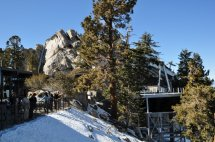 The top station of the Palm Springs Aerial Tram.