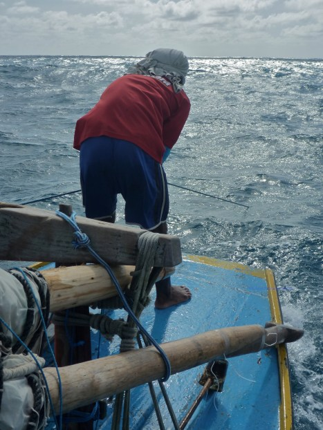 Pulling up the anchor