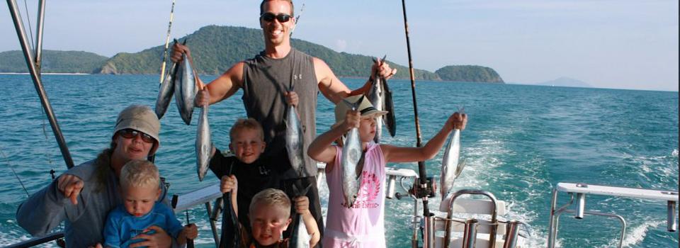 Family fishing tours