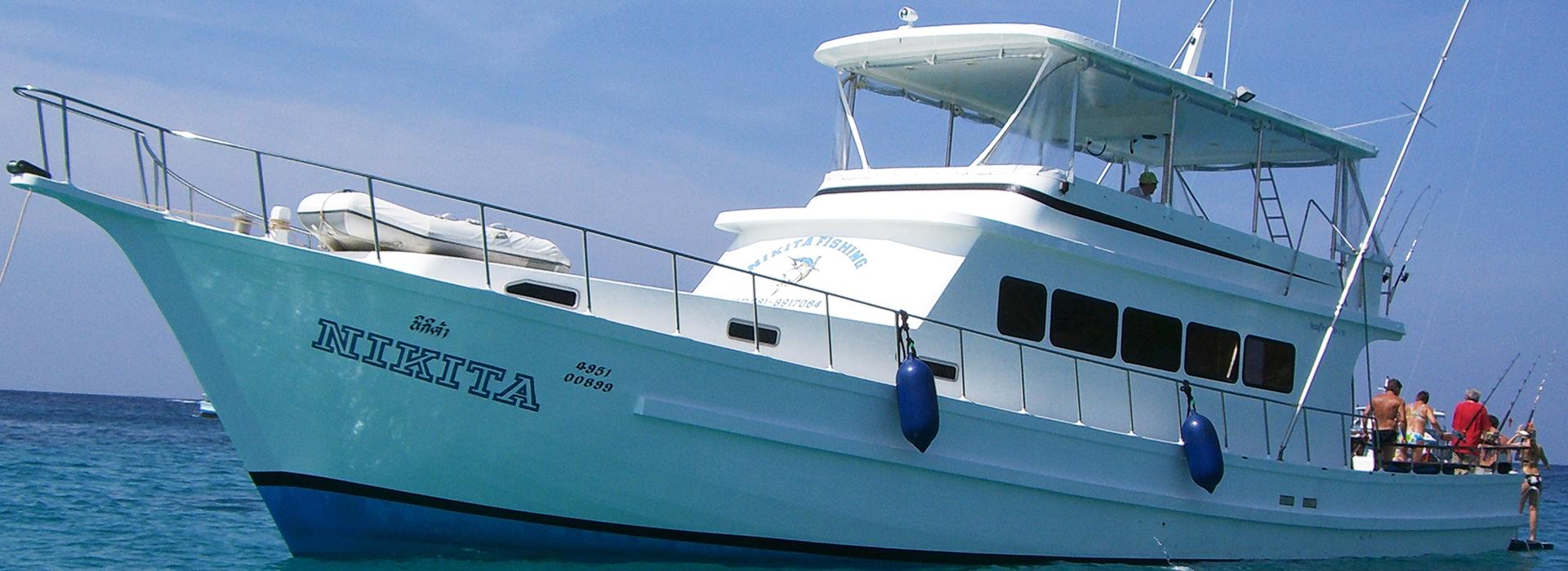 Nikita sports fishing charter