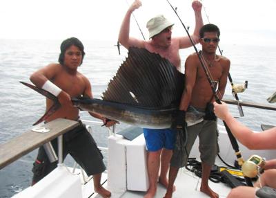 Sportfishing liveaboard charter Phuket