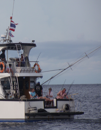 Liveaboard fishing tours Phuket