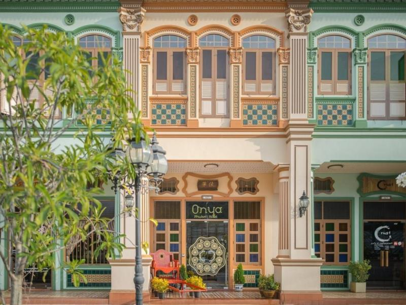 Hotel accommodation Phuket Town