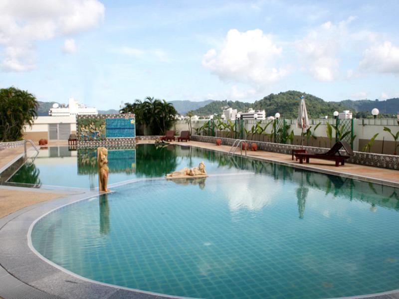 Top class hotel Phuket Town