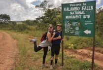 Arriving at the Kalambo Falls National Monument