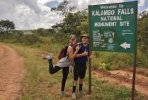 Arriving at the Kalambo Falls National Monument