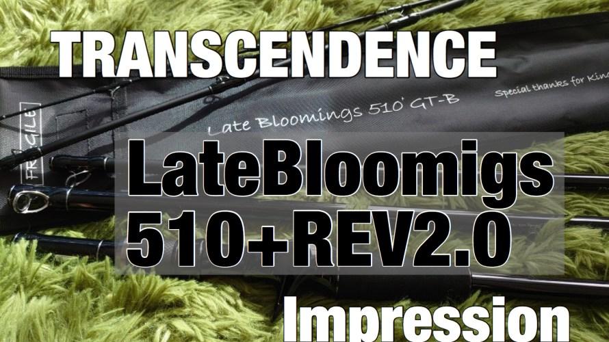 【購入インプレ】トランスセンデンス レイトブルーミングス510+REV2.0【可変レングスパックロッド】