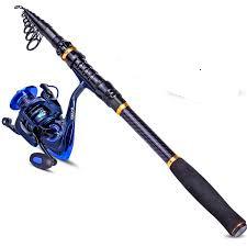 TROUTBOY Black Warrior travel Fishing Rod