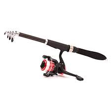 Walsilk Spinning Fishing Rod and Reel Combo Full Kit