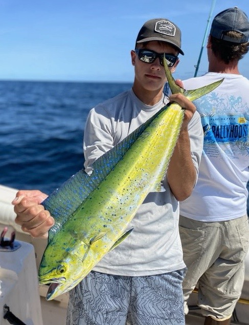 Grey caught this mahi off the pots this weekend.