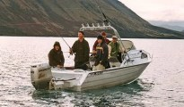 All boats have their advantages and limitations. A McLay 530 Fisherman.