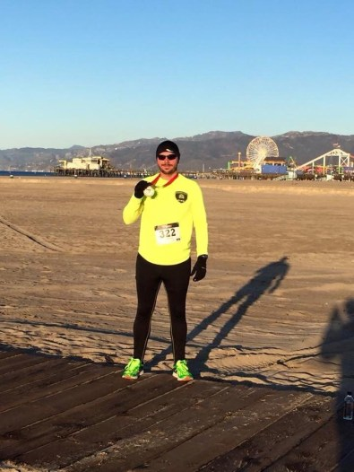 Dustin Danner finished in seventh place overall in 23:01 in the California 5K