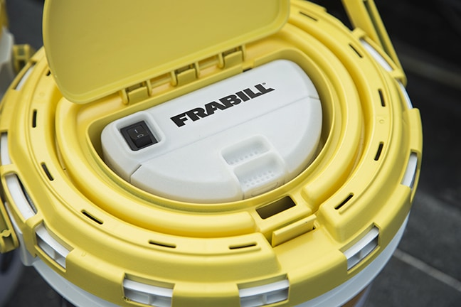 frabill's better way to keep bait alive & kicking - fishing tackle, Hard Baits