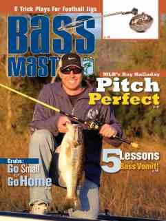 Bassmaster Roy Halladay Cover