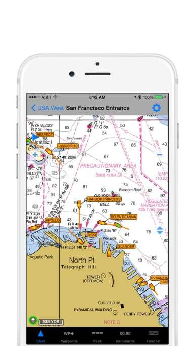 iNavX Screenshot AIS Data HR PRG-1