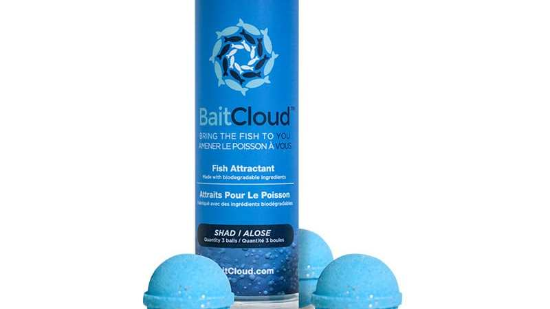 BaitCloud™ introduces fish attraction products: ICAST #1180