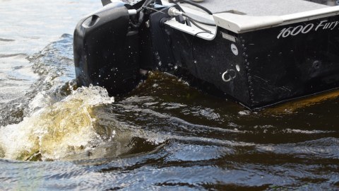 This Electric Outboard is the Future of Fishing