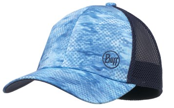 BUFF Snap Back 10-4 Hat in Pelagic Blue Camo