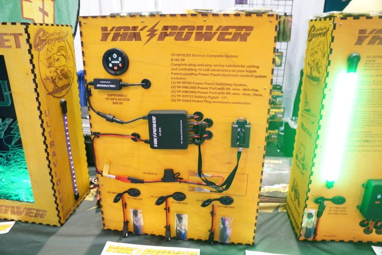 10 of the Top New Kayak Products from ICAST Yak Power Wiring Harness on