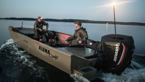 Evinrude Launches New 150 HP Power Tiller
