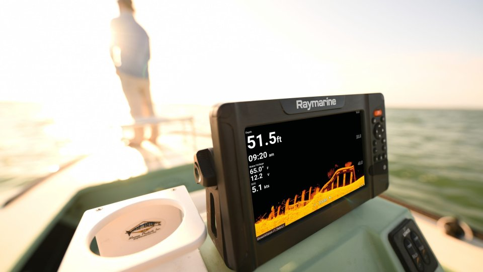 Fish Smarter Above and Below the Waterline with Raymarine by FLIR Element HV