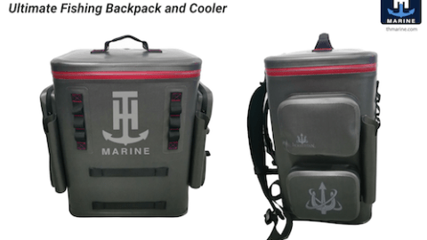 T-H Marine Unveils its Ultimate Fishing Backpack and Cooler