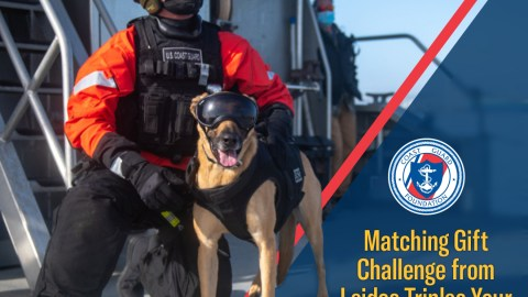 Coast Guard Foundation Issues Matching Gift Challenge