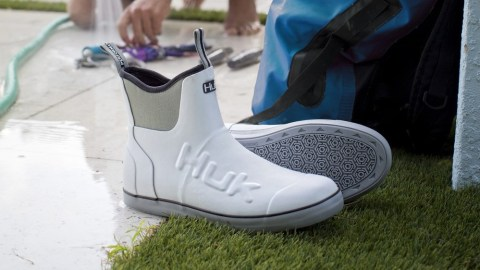 Huk's Rogue Wave Fishing Boot Conquers The Elements