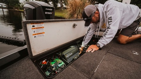 Minn Kota's New On-Board Chargers Are Optimized For Lithium