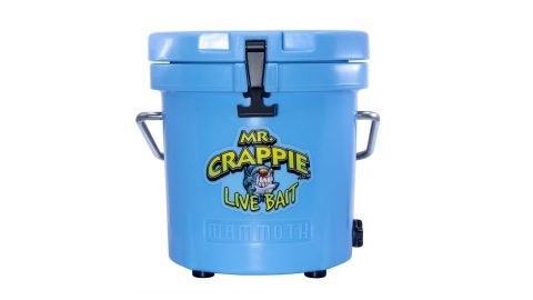 Check out Mammoth Coolers at Crappie Expo