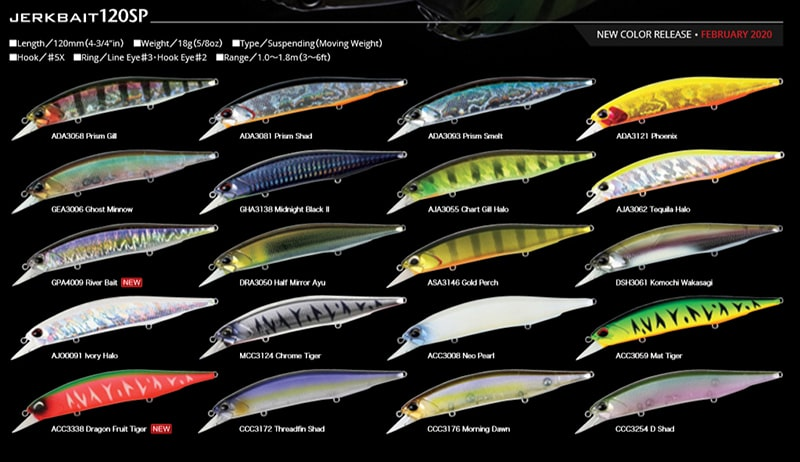Duo Realis Jerkbait 120SP Suspend Minnow Lure