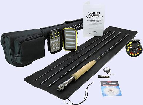 Wild Water Fly Fishing Rod Combo Kit