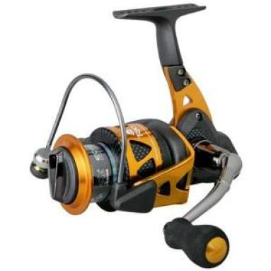 Okuma Trio High speed Spinning Reel Black Orange