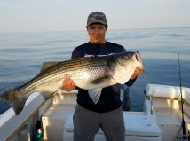 fishing on Long Island Sound