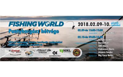 Pontyhorgász hétvége a Fishingworld Horgászáruházban