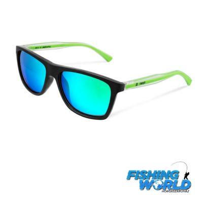 Delphin Polarizált napszemüveg SG TWIST zöld lencsével