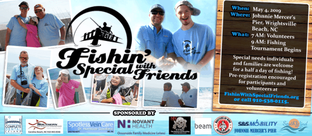 9th Annual Fishin' With Special Friends 2019 Wrightsville Beach NC