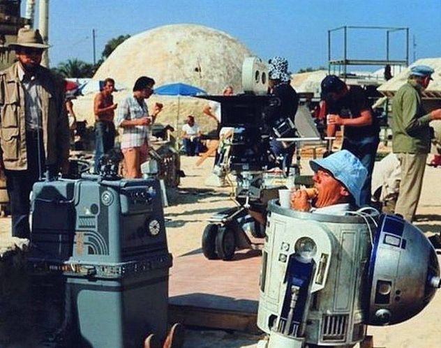 Gwiezdne wojny, strzelanie filmowe, efekty specjalne